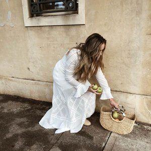 TIGERLILY Zoayla Ivory White Maxi Dress NWT RP$399